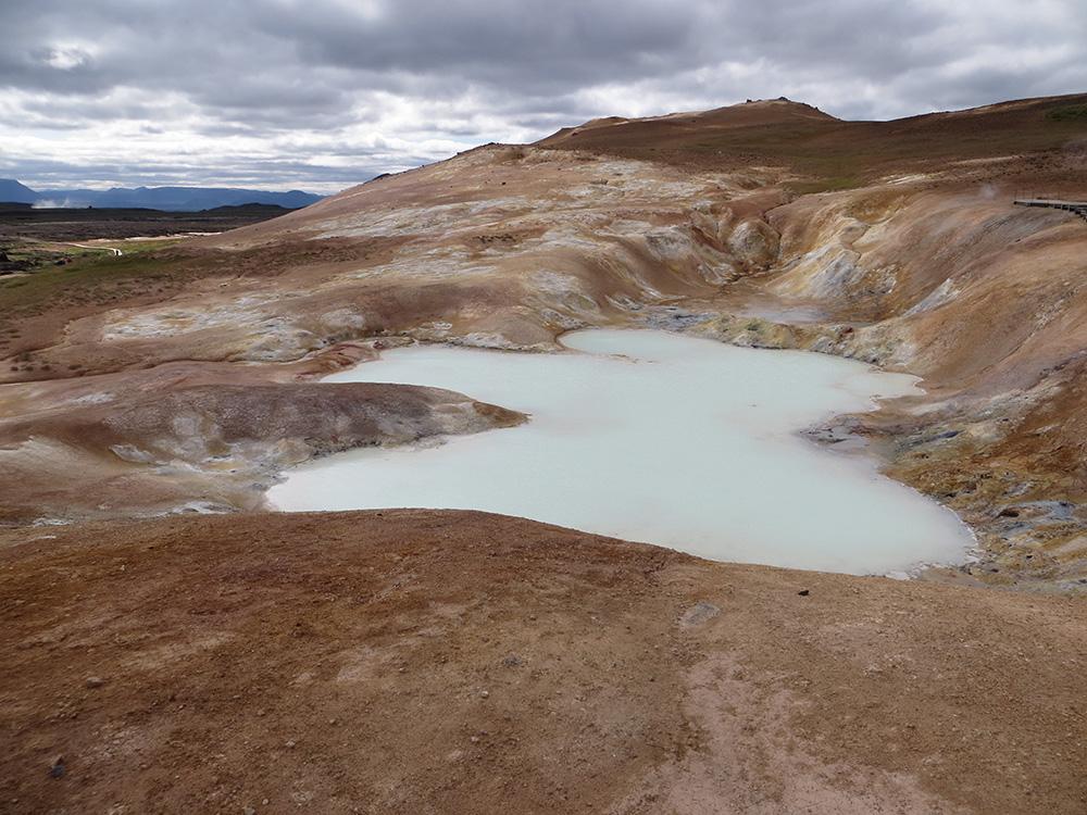 Paysage volcanique