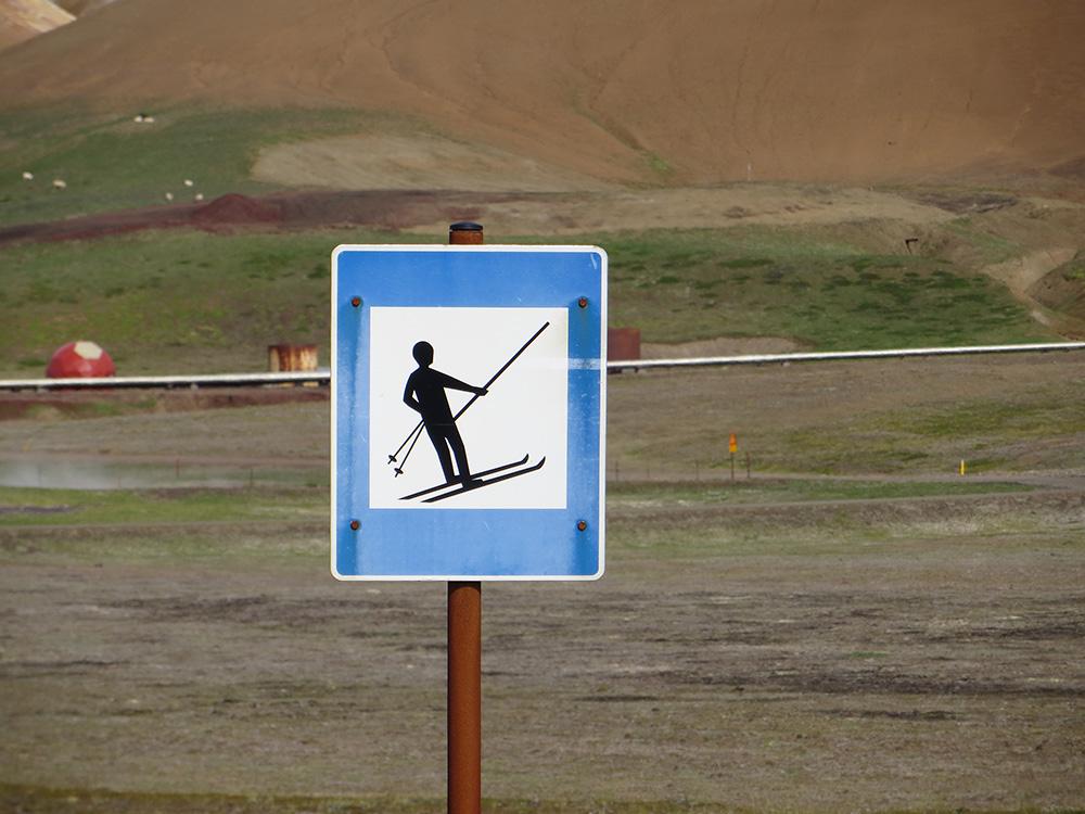Remontée mécanique de ski en Islande