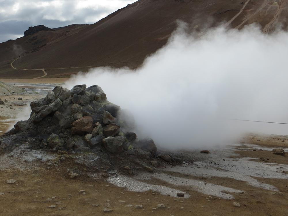 Soufrière en Islande