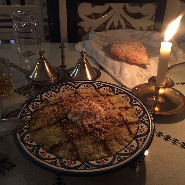 Restaurant à Essaouira