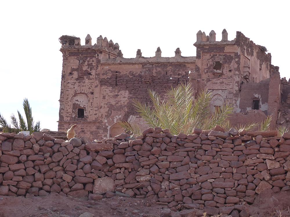 Kasbah Telouet au Maroc