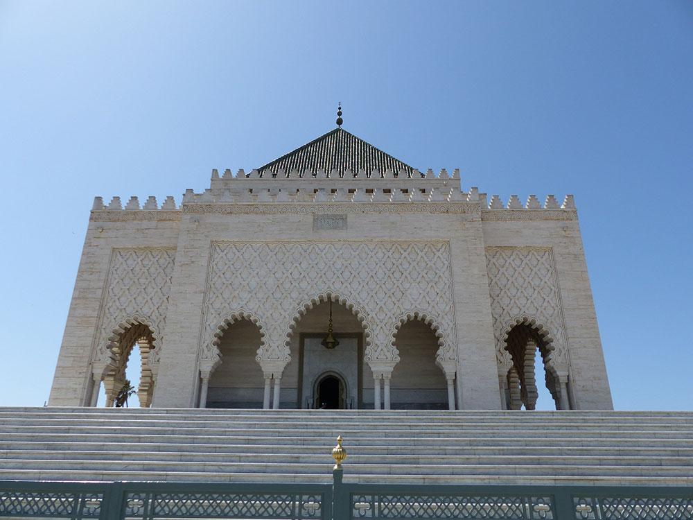 Mausolée Mohammed V au Maroc