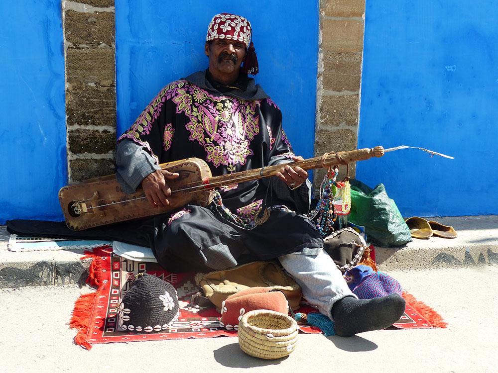 Musicien au Maroc