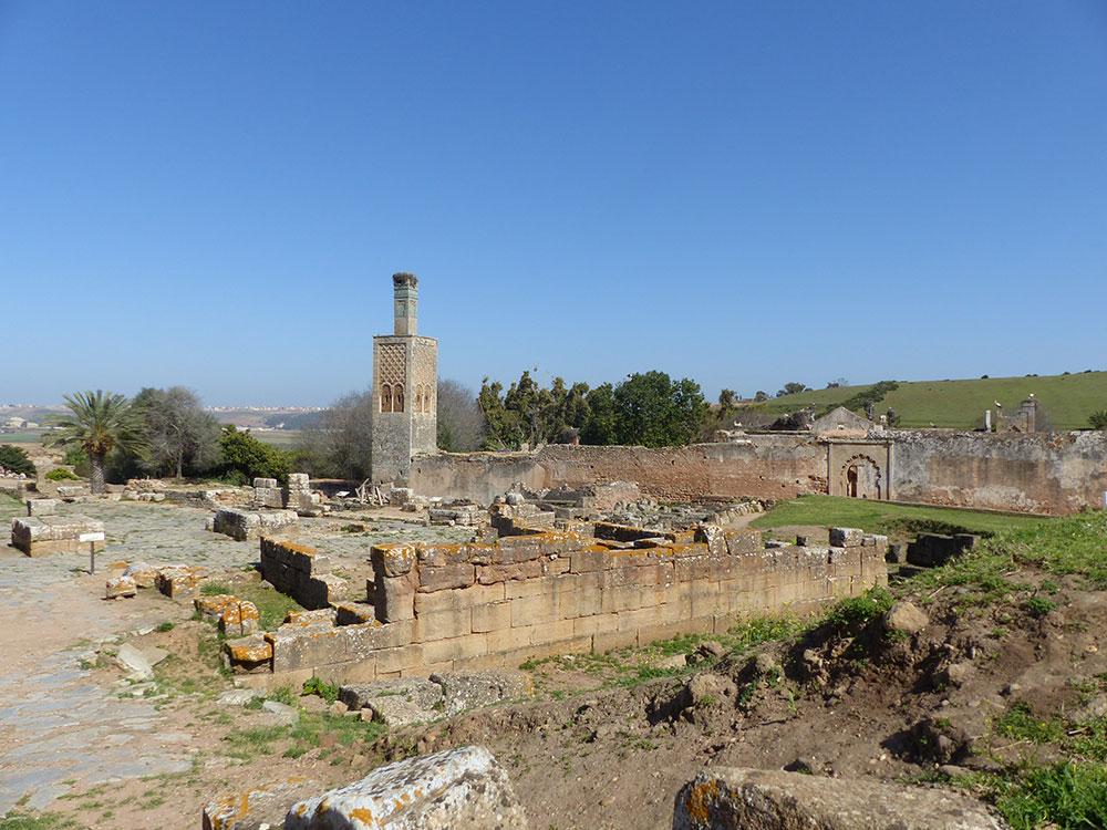 Ruines romaines et marocaines