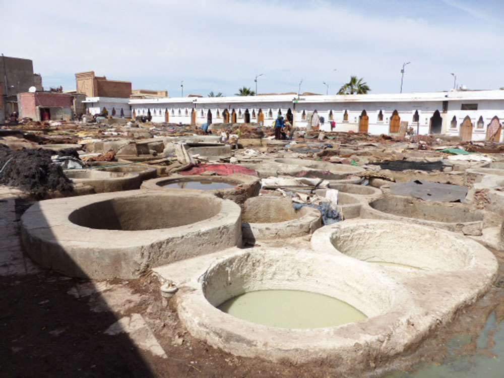 Tanneries de Marrakech
