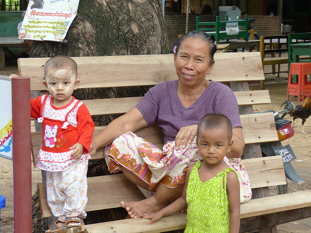 Sourire birman