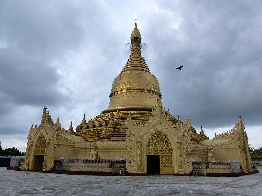 Pagode à Rangoun