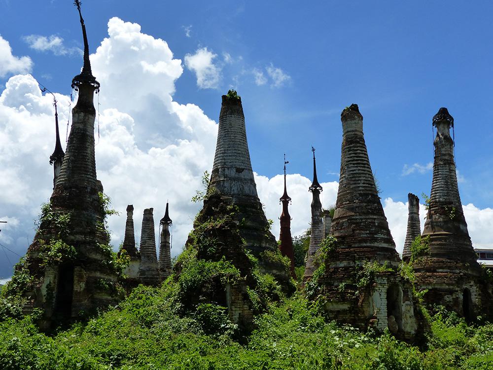 Pagodes en Birmanie