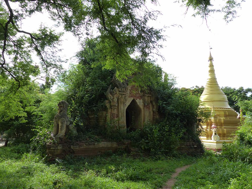 Temple caché