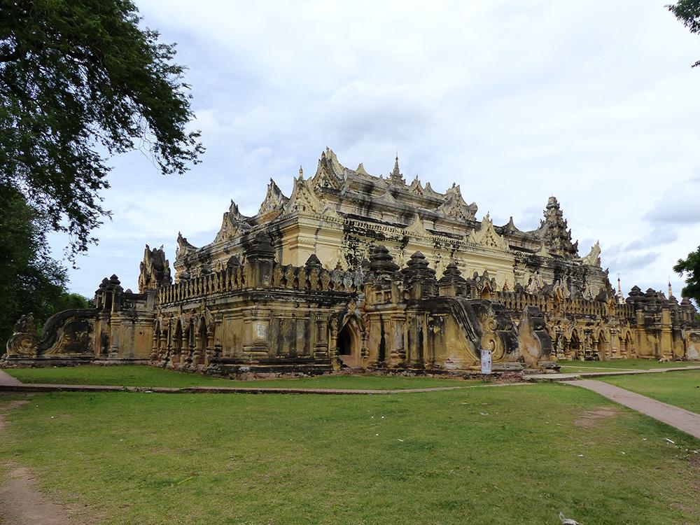 Temple à Mandalay