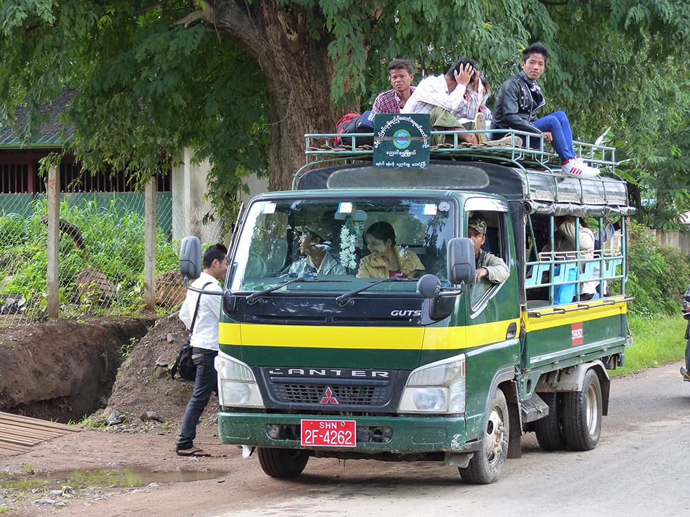 Véhicule en Birmanie