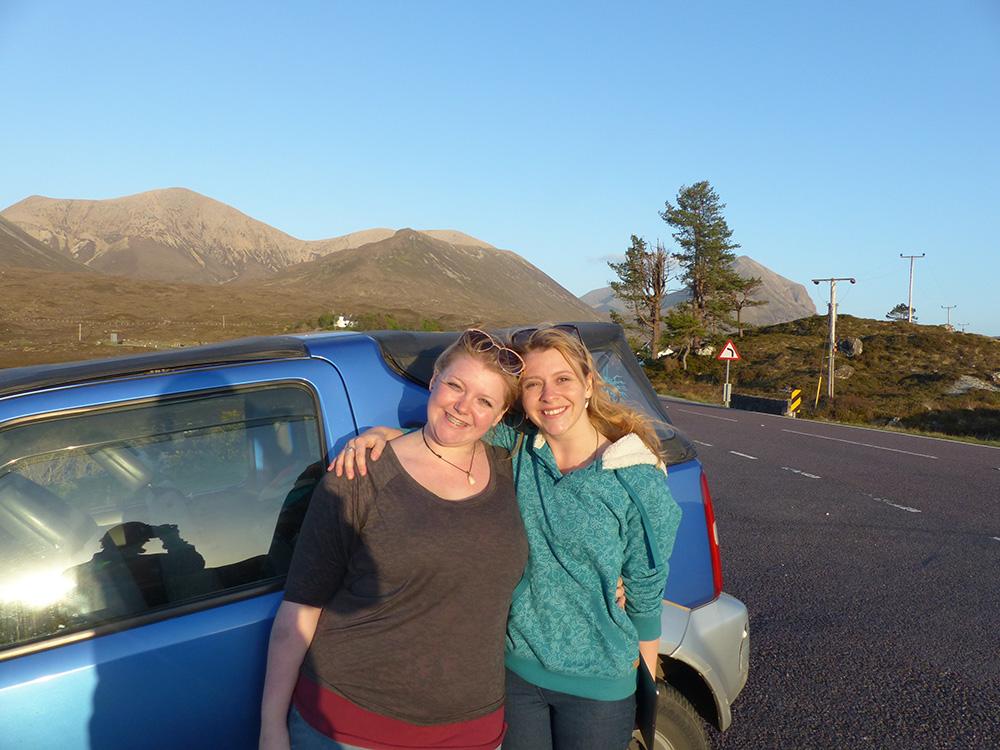 Autostop sur Skye