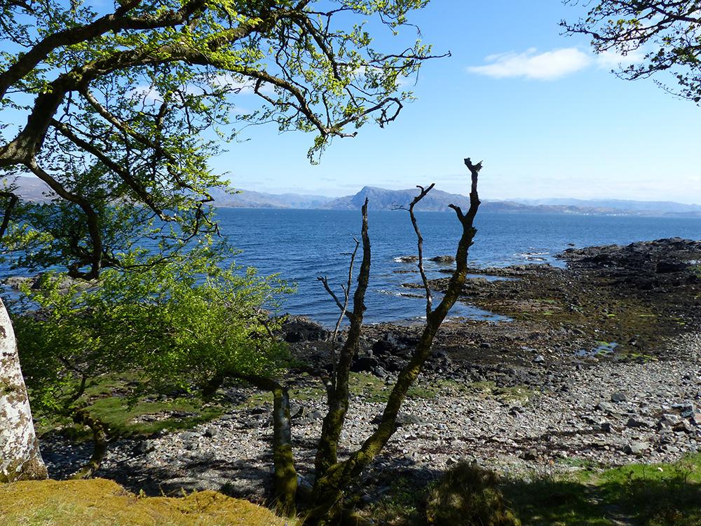 Bord de mer à Skye