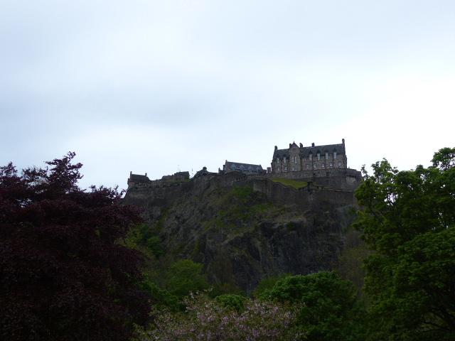 Colline du château d'Edimbourg