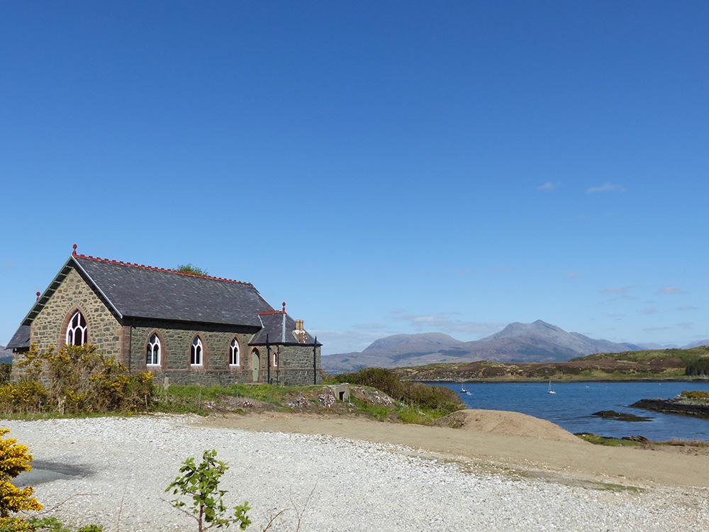Eglise sur Skye