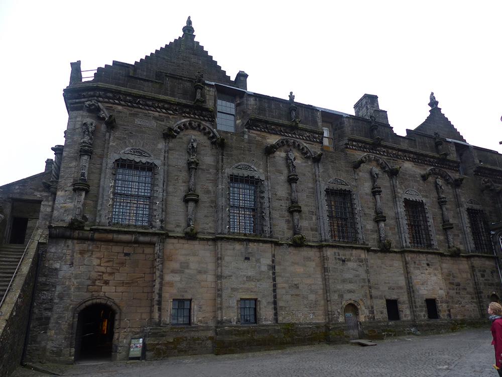 Intérieur du château de Stirling