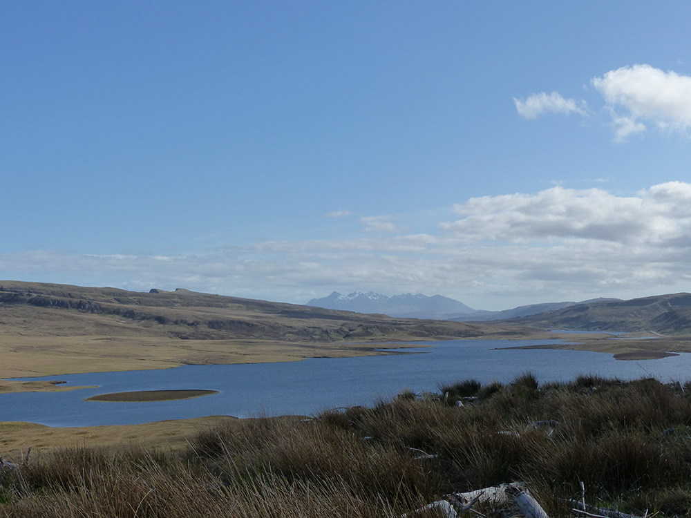 Paysage de Skye
