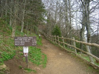 thumbnail_USA - Newfound Gap - Appalachian Trail