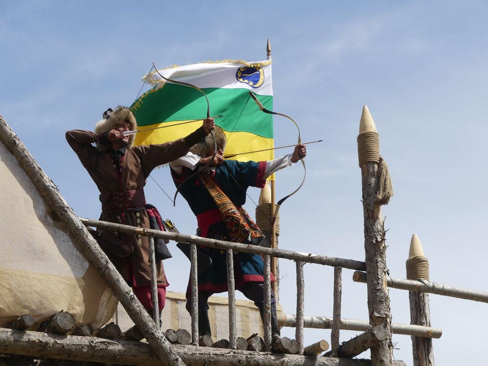 Archers mongols