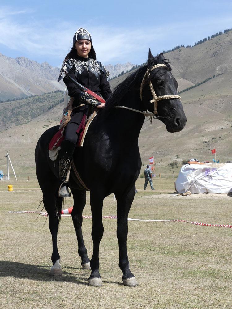 Cavalière aux World Nomad Games