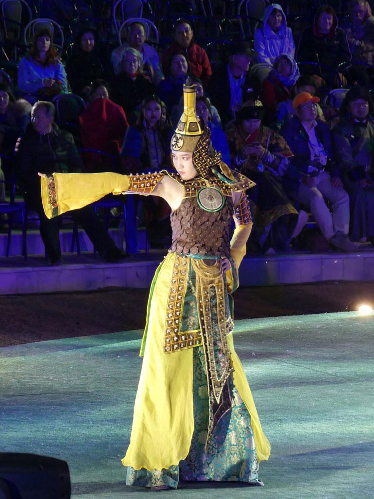 Défilé de mode kirghize