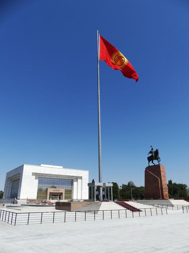 Bishkek, capitale du Kirghizistan