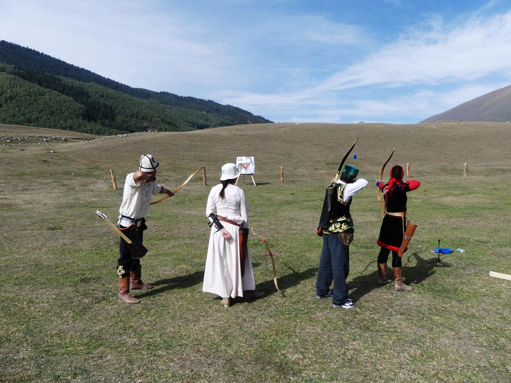 Tournois d'archerie au Kirghizistan