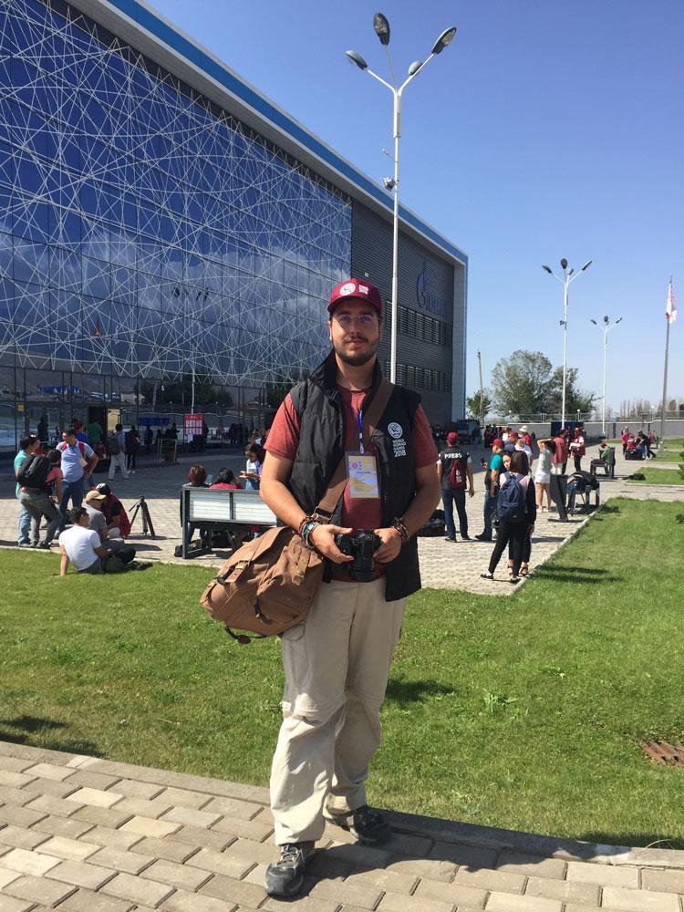 Journaliste aux Jeux Nomades Mondiaux