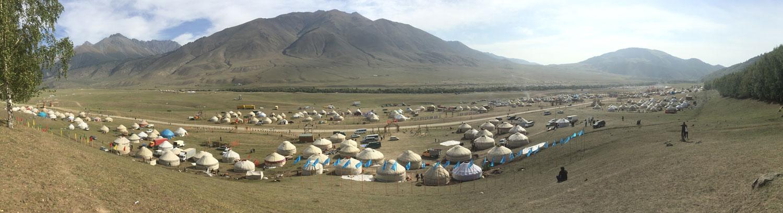 Kyrchyn au Kirghizistan