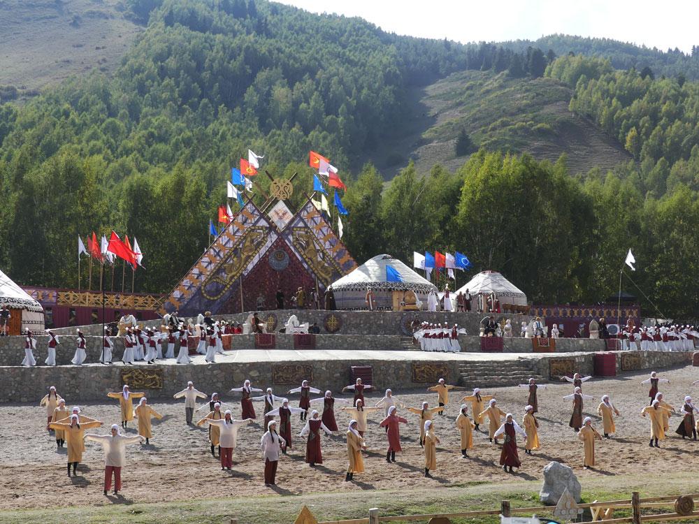 Spectacle à Kyrchyn