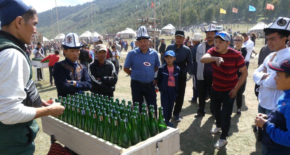 Kermesse au Kirghizistan