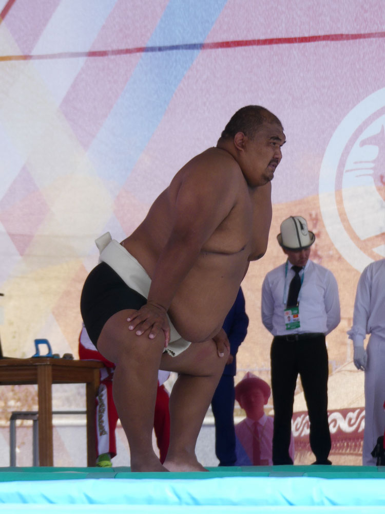 Sumo aux World Nomad Games