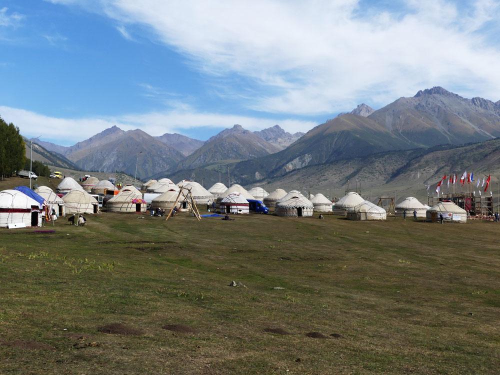 Kyrchyn au coeur du Kirghizistan
