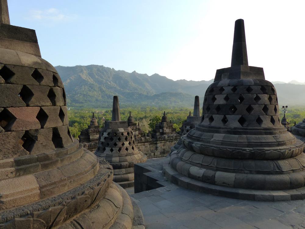 Cloches Borobudur