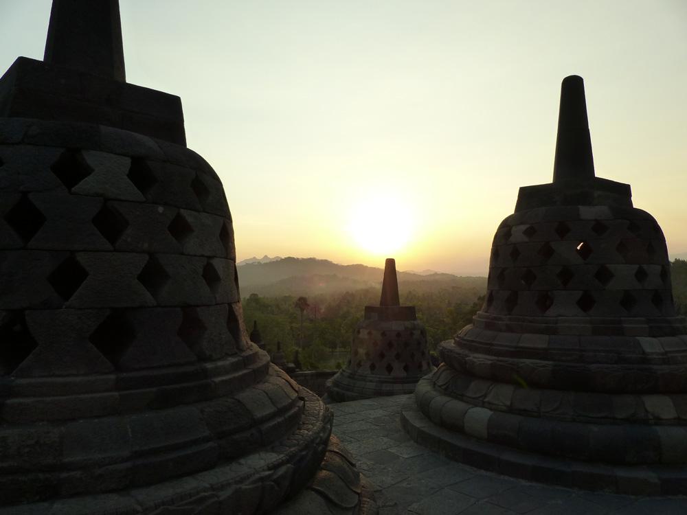 Borobudur à Java