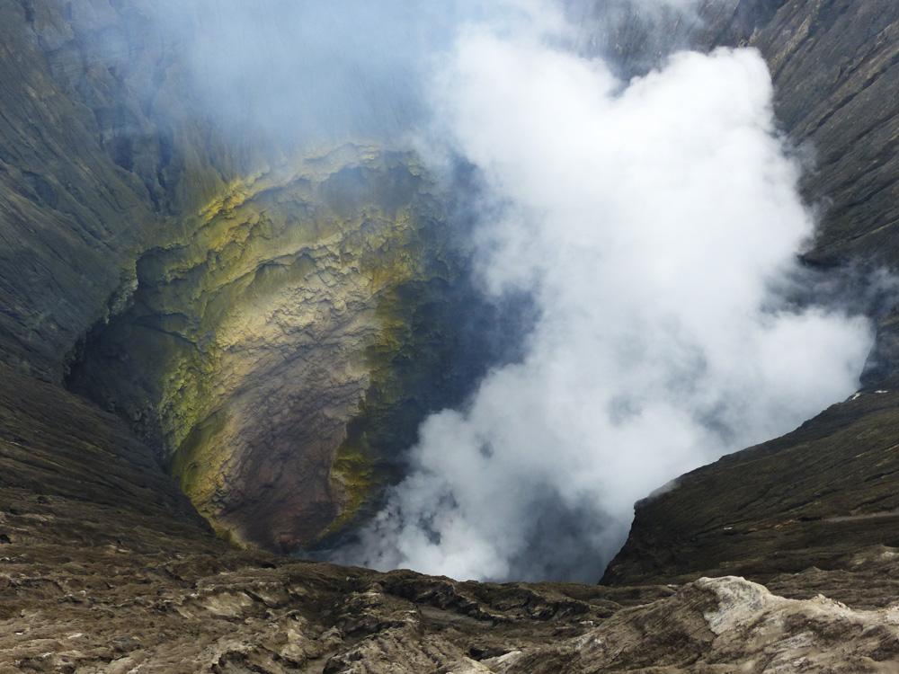 Cratère du Mont Bromo en Indonésie