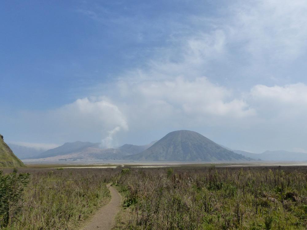 Chemin secret mont Bromo
