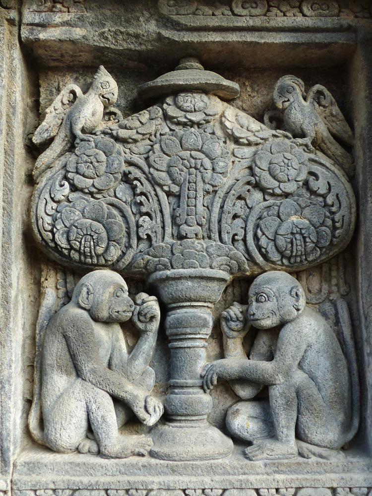 Sculptures à Java