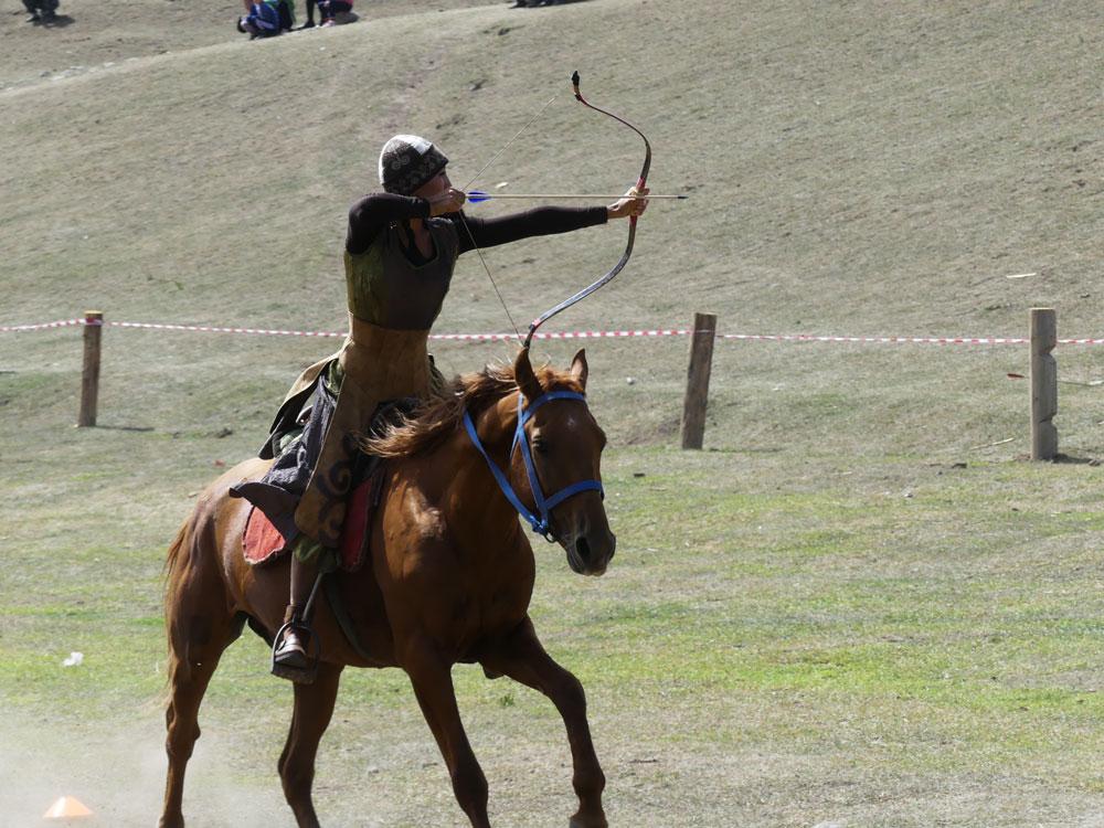 Archère de cavalerie
